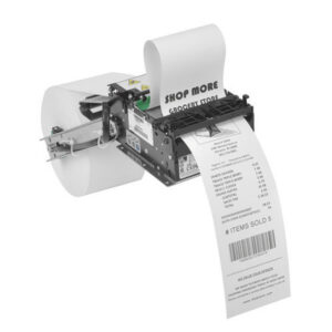 "2-1/4"" x 6"" 55gsm Thermal Kisok (ATM) (CSO) Thermal Paper Roll (11/16"" ID core ) 4 Rolls / Carton"